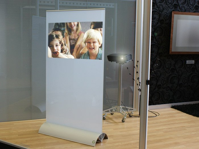 glass projection stand image